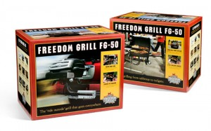 4 Color Retail Box for Freedom Grill