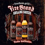 Fire Brand Sauce branding & packaging